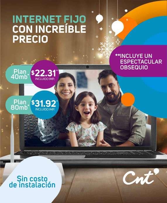Planes Internet Promoción Navidad Internet Fijo 2020