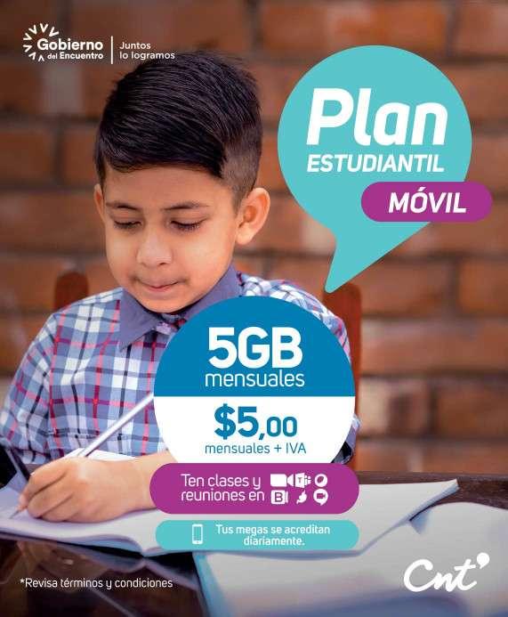 Planes Móvil Pospago Plan Estudiantil