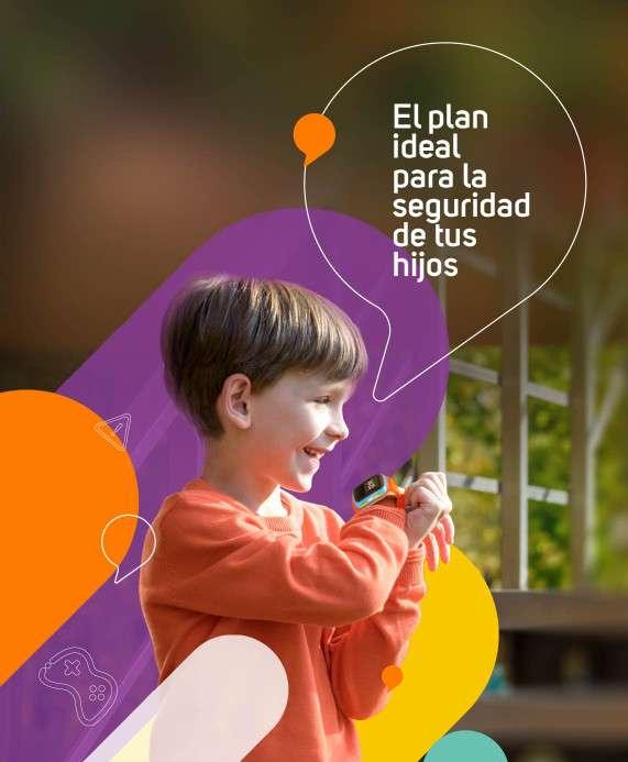 Planes Móvil Pospago Plan Móvil Kid Smartwatch