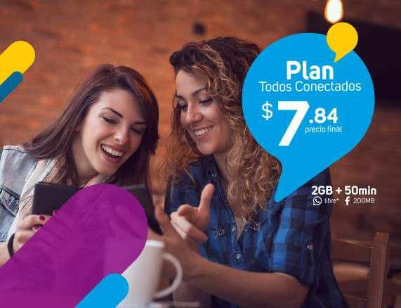 Planes Móvil Prepago Plan Todos Conectados